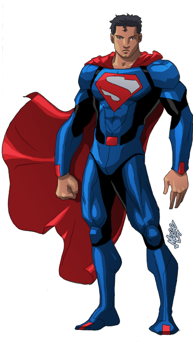 Superman Redesign IV by mase0ne