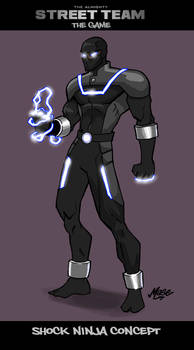 Shock Ninja Concept Art