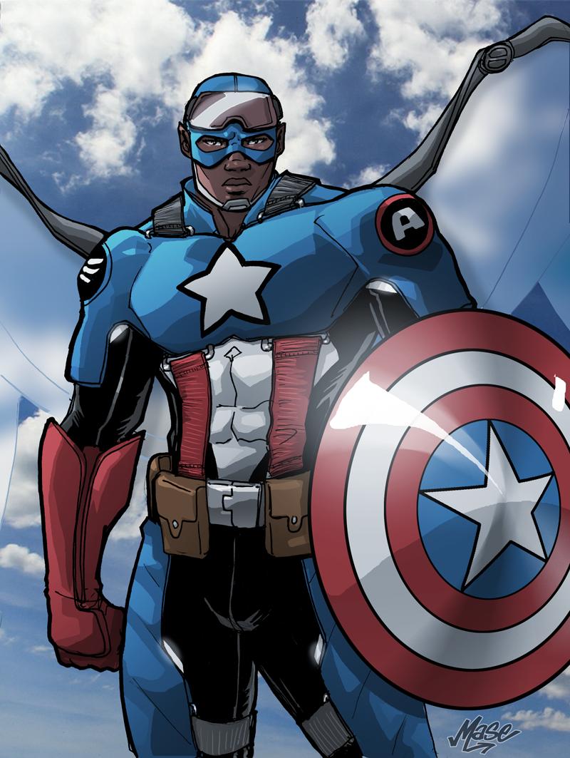 Captain America by mase0ne