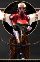 Lady Sankofa III by mase0ne