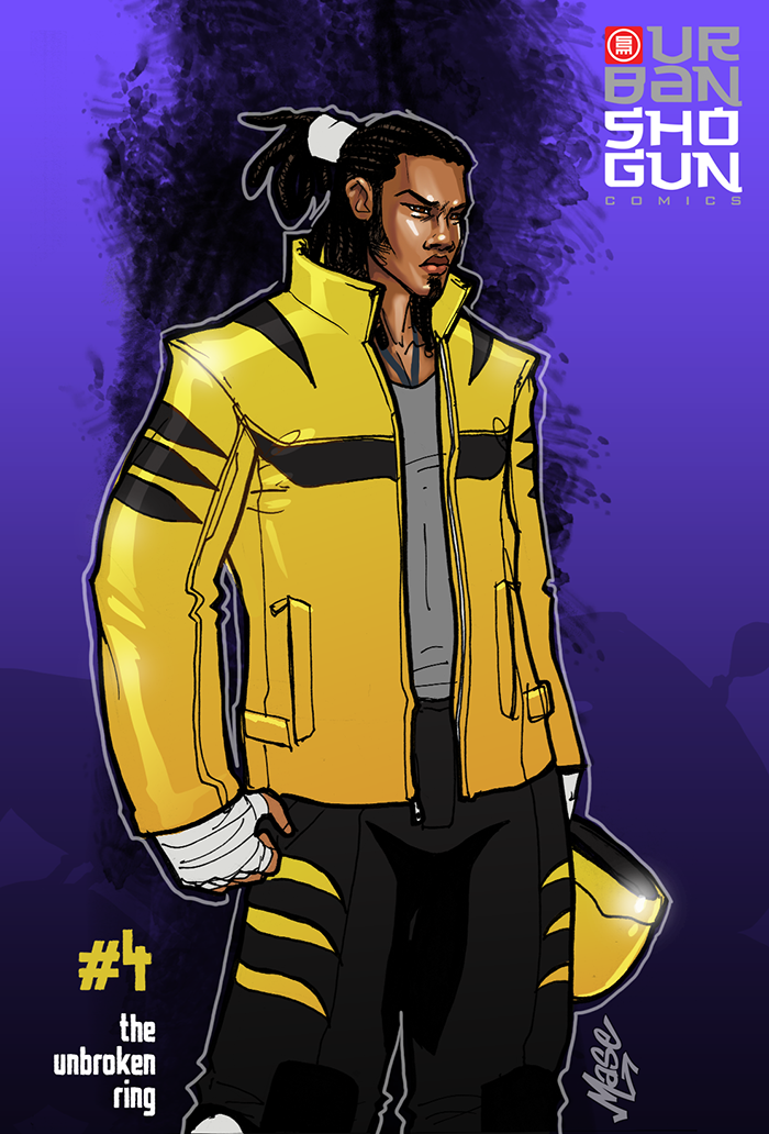 Tiger Issue 4 costume by mase0ne