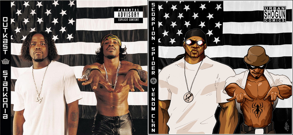 Outkast x Venom Album cover mashup by mase0ne