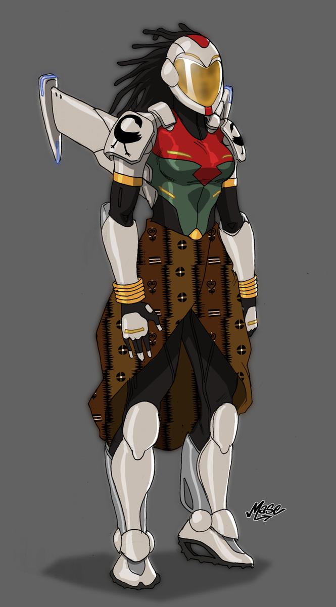 Lady Sankofa Mark IV concept by mase0ne