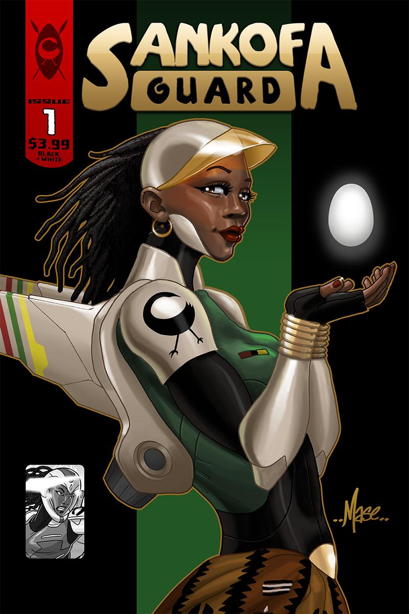 Sankofa Guard Preview (Cover) by mase0ne