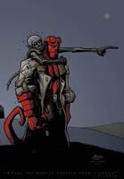 Hellboy by mase0ne