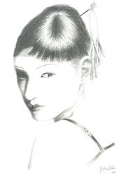 Chiaki Kuriyama by OrangeJules