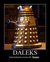 Demotivational Dalek by Kintoke-Saruwatari