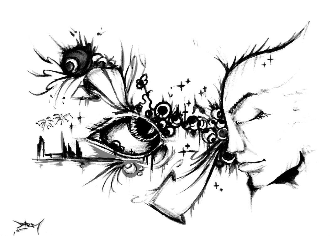 stencil by devilsarm