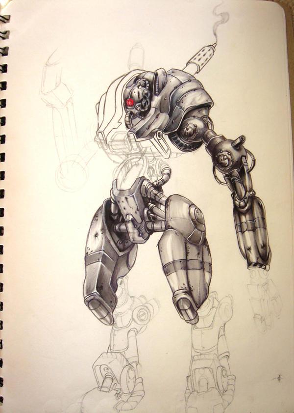 robot by OmenIV