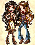 Jade and Yasmin