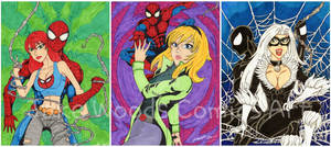 The Women of Spiderman Complete