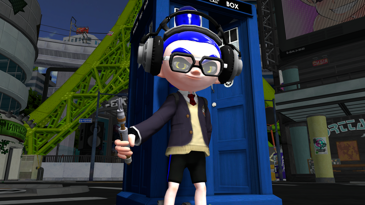 The Squid Doctor by CatDraculaX05