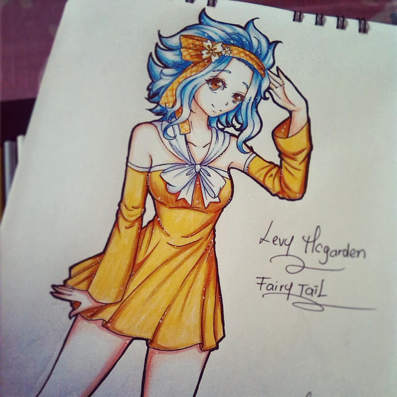 Levy Mcgarden by ilovetheanime
