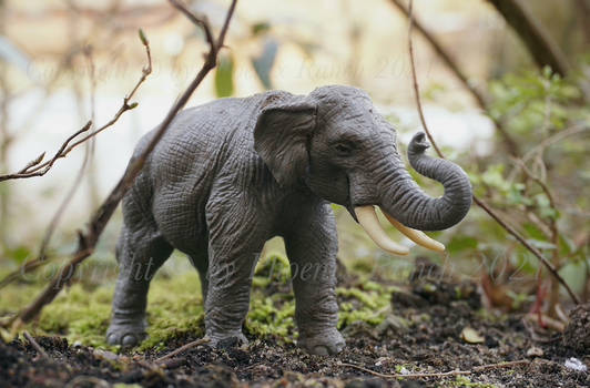 Britains Indian Elephant scale 1/32
