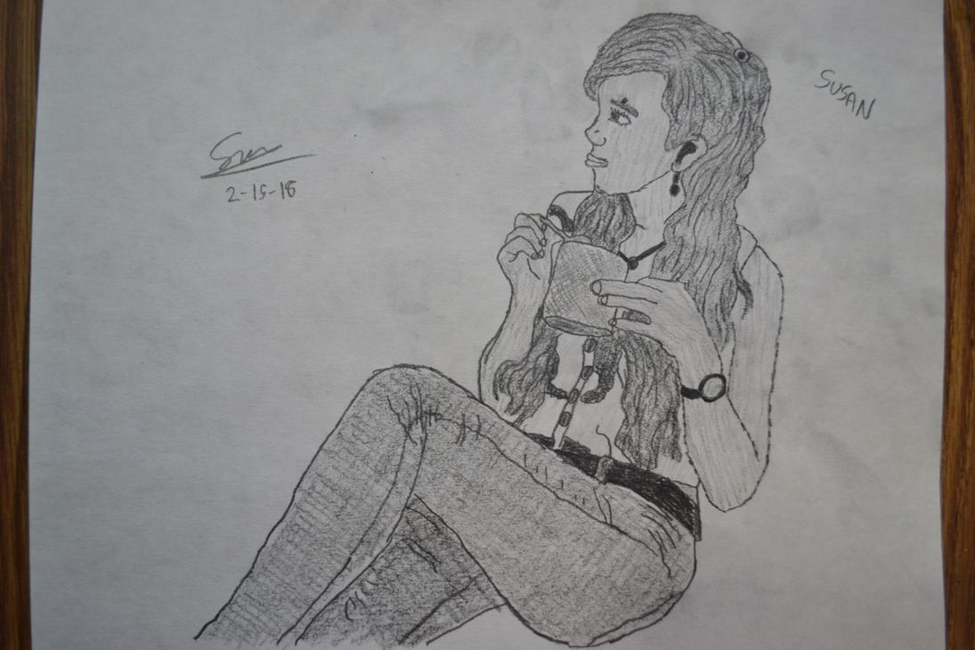Susan, My Online Friend from Hong Kong by EyesOfTheBeholderInc