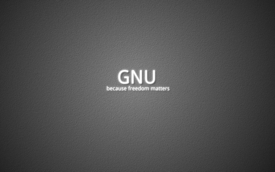 GNU freedom matters by grvrulz