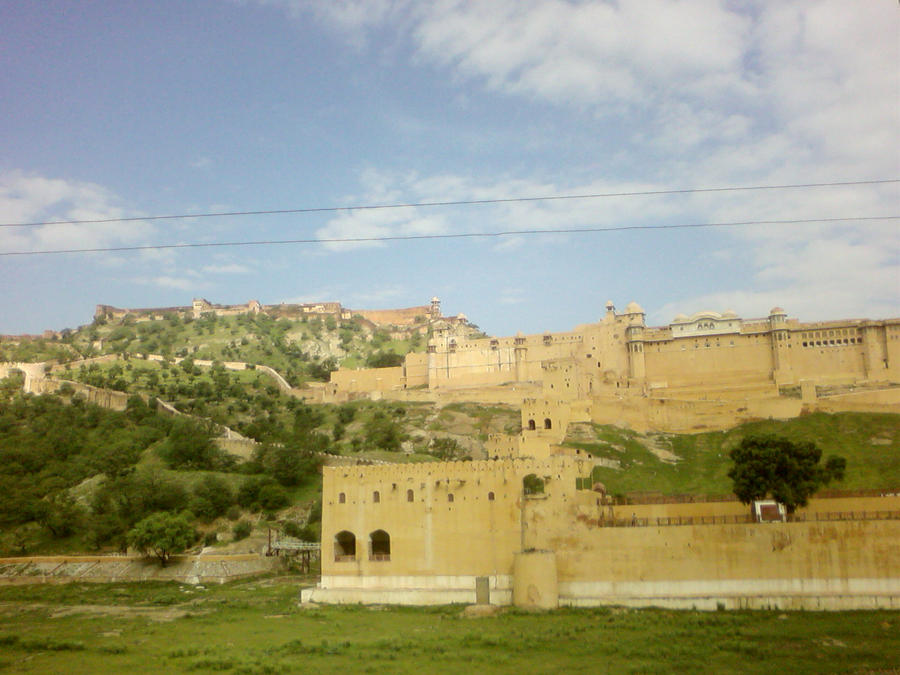 The Amber Fort by grvrulz