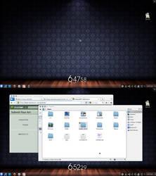 Trisquel-KDE April'10 by grvrulz