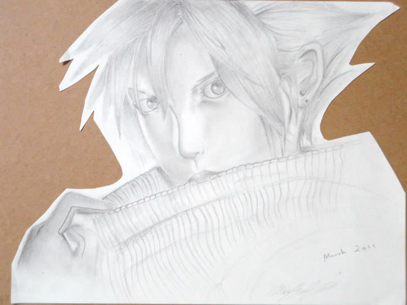 Cloud Strife by 8Bpencil