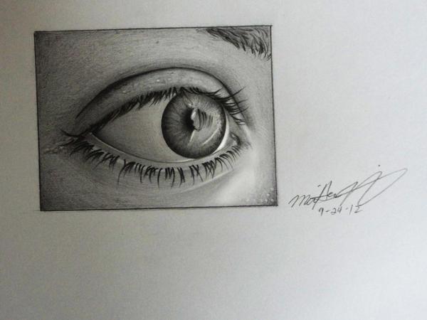 Eye by 8Bpencil