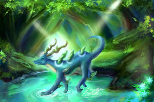 Spirit Guardian by 8Bpencil