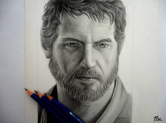 Joel-The Last Of Us by 8Bpencil