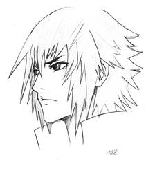 Noctis Sketch by 8Bpencil
