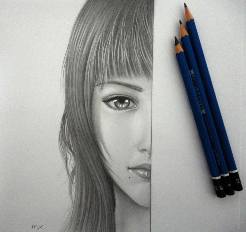 Final Fantasy XV girl? by 8Bpencil