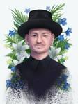 Chester Bennington by 8Bpencil