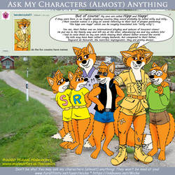 Ask my Characters - Do the fox cousins have names?