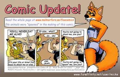 Comic update - Spoon attack!