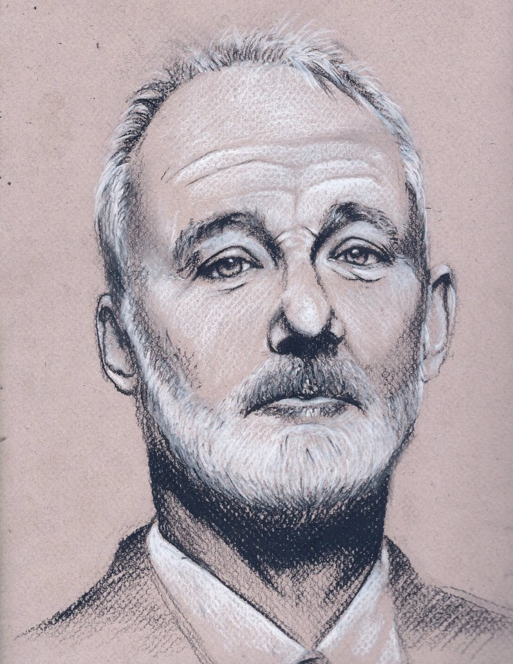 bill murray drawing pictures to pin on pinterest pinsdaddy