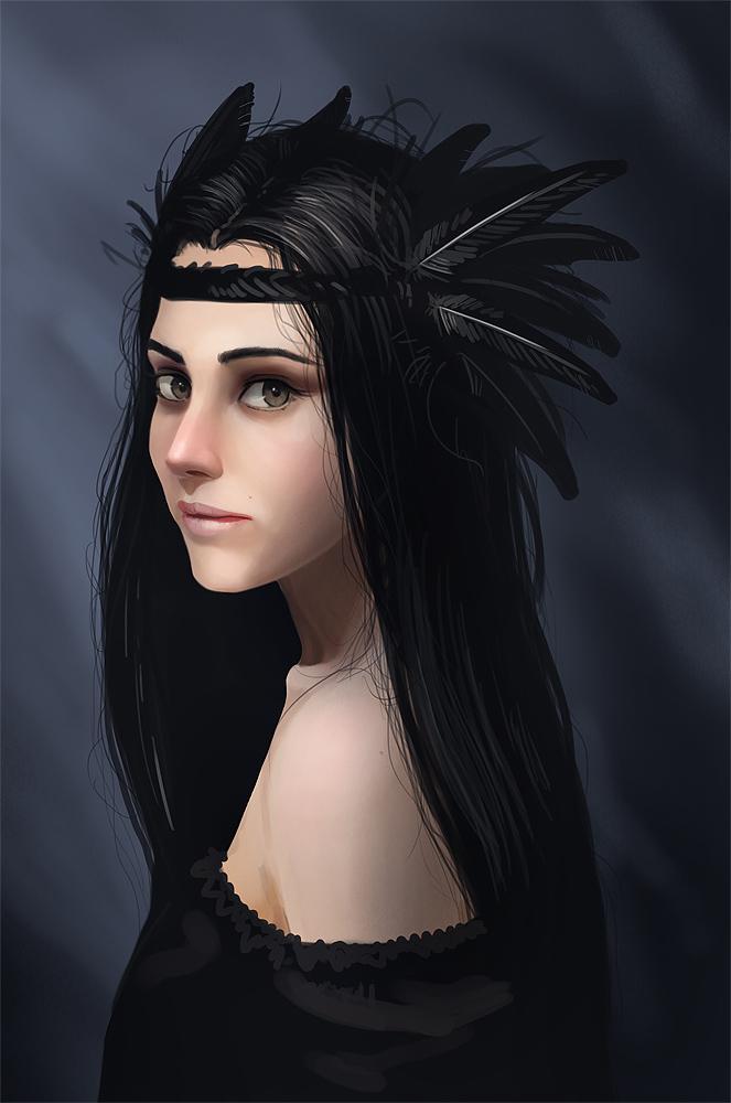 Raven by LuckyFK