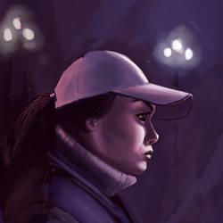 Random Girl Portrait