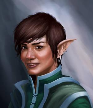 Caitlin Portrait