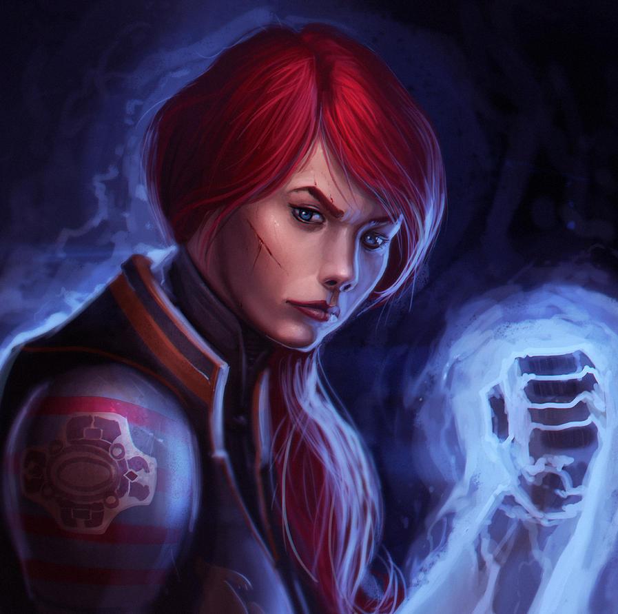 Shepard by LuckyFK