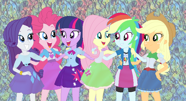 the human mane 6 by mojo1985 on deviantart