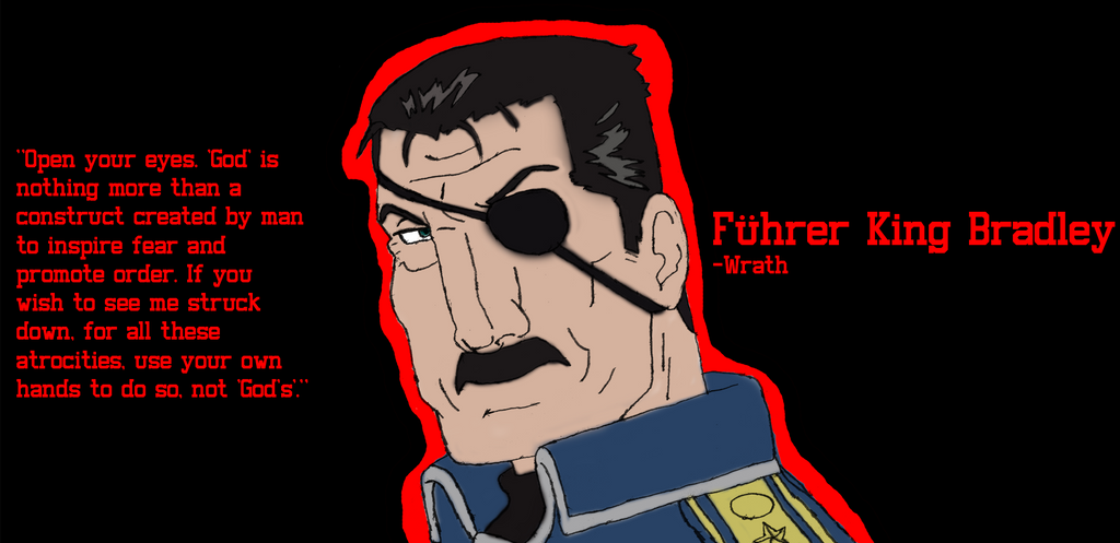 Fuhrer King Bradley From FMA Brotherhood By DonVladReznov