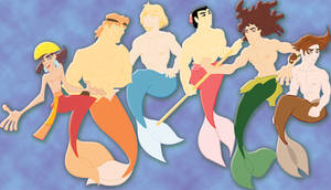 viciousN's Disney mermen