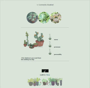 Plant Aesthetic F2U