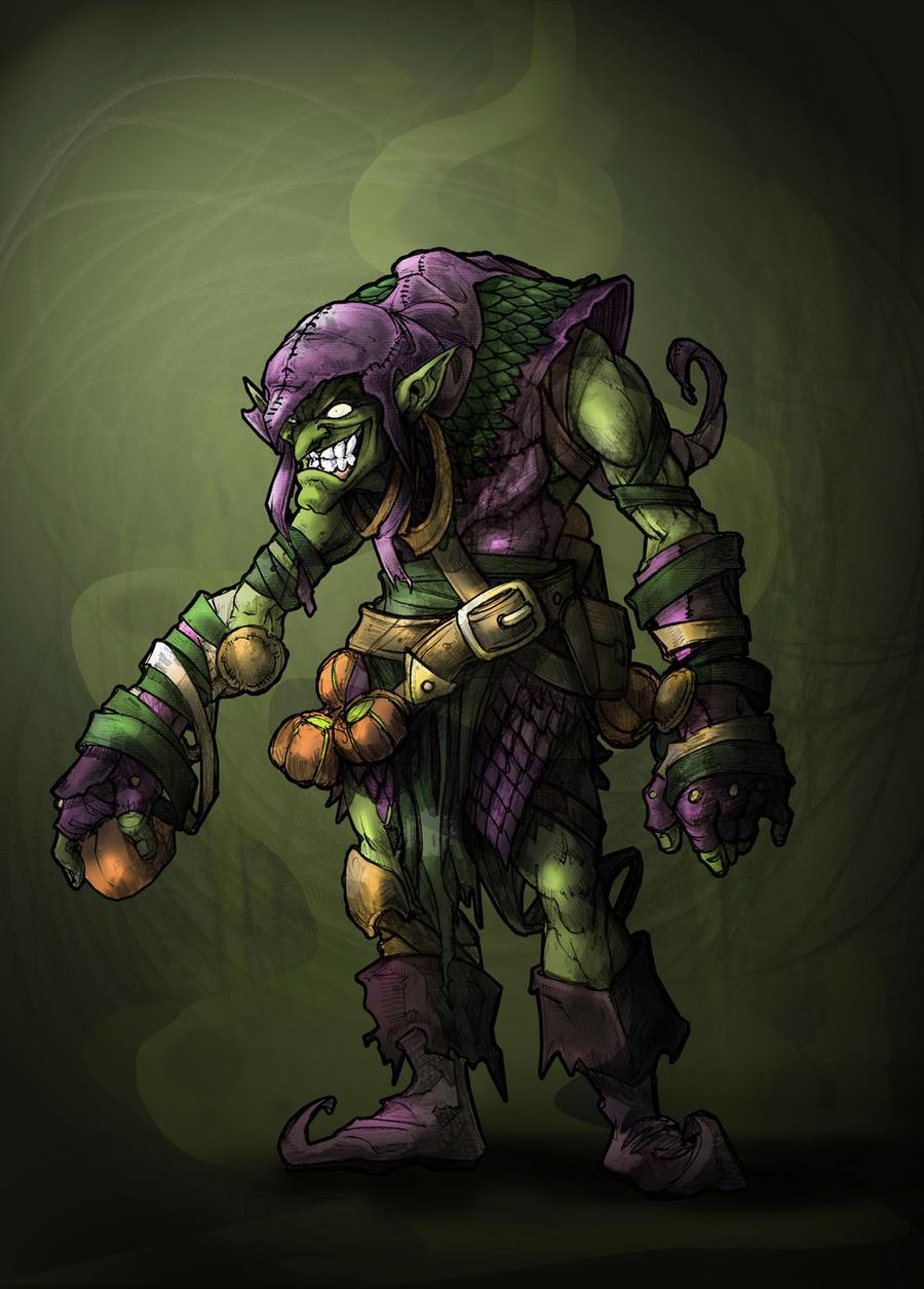 Green Goblin by SergioSilvan
