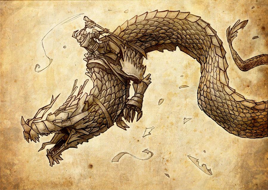 [Ficha 2.0] - Tatsuo e.e Origami_dragon_by_sergiosilvan-d4miwbp