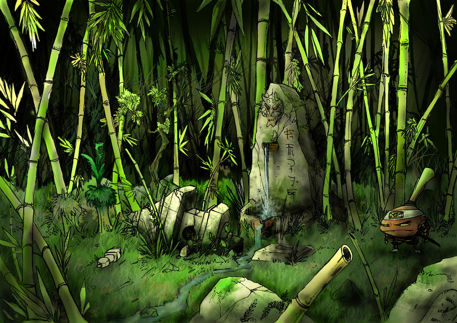 Bamboo Forest by SergioSilvan
