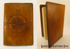 Leatherbound Travellers Journal