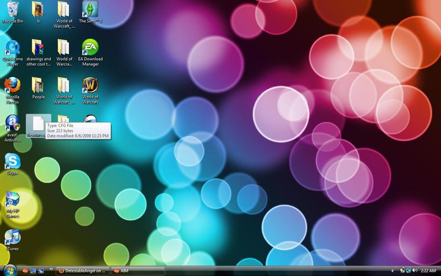 desktop screenshot 1-13-10
