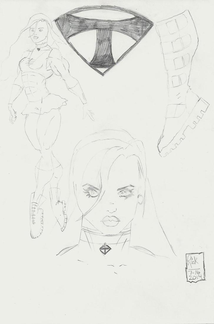 TiFFANi design sketches 300dpi resize by zillaspawn