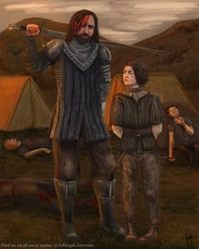 Arya and The Hound