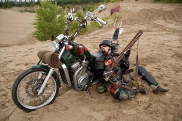 Mad Max bike