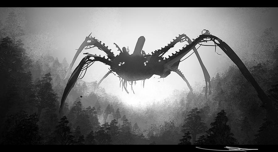 Big crabthing by everydaydennis