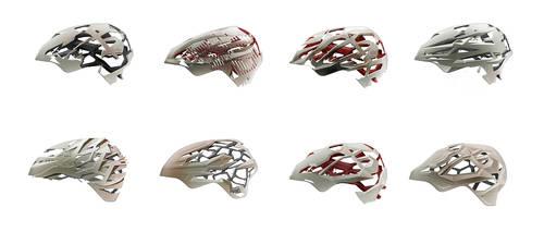 One hundred helmets - pt. 5 by everydaydennis